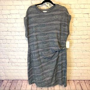Time & Tru new side tie knit dress